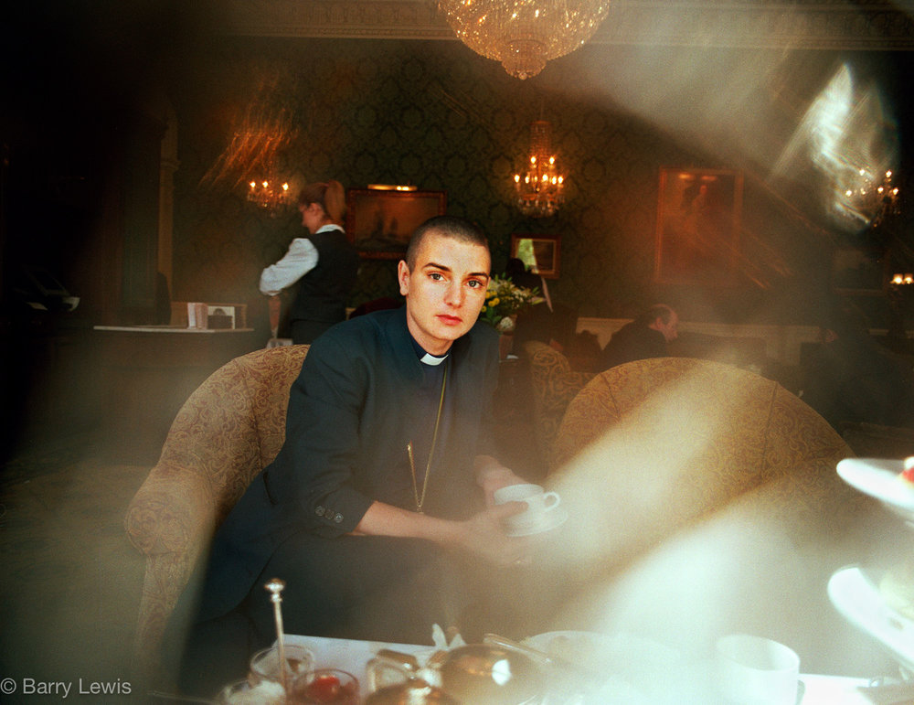 """Why is everyone staring at me?"" Were the first anxious words Sinead O'Connor said to me when we met in a Dublin tearoom. 