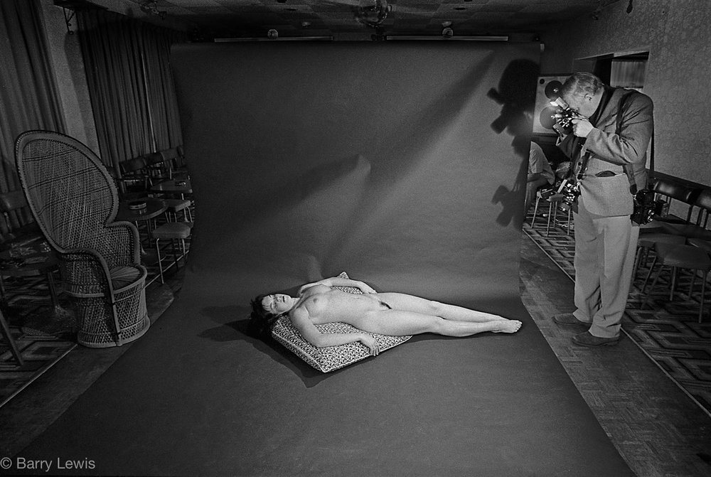 Amateur photographers glamour weekend in Bournmouth, UK, 1985