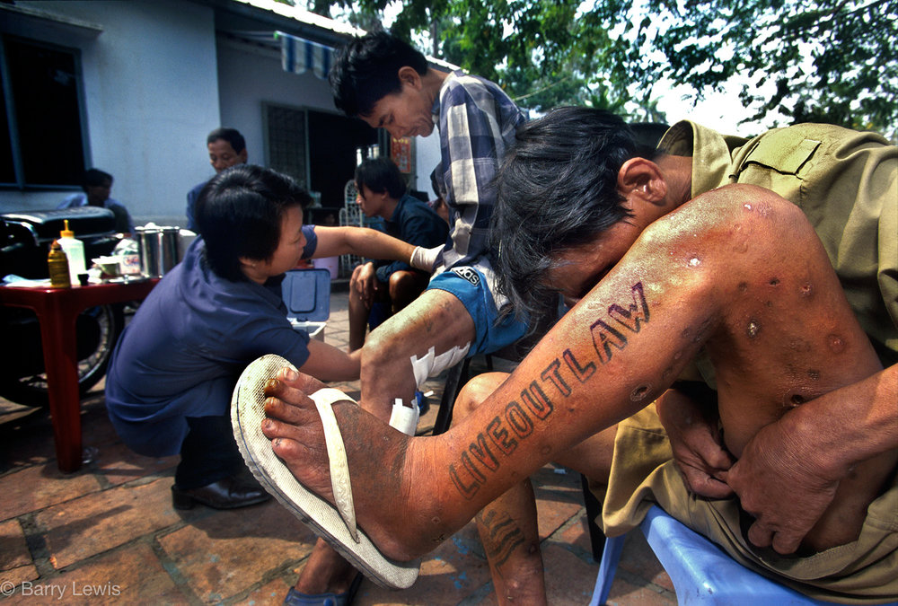 HIV & drug treatment centre, Hanoi, Vietnam, 2000