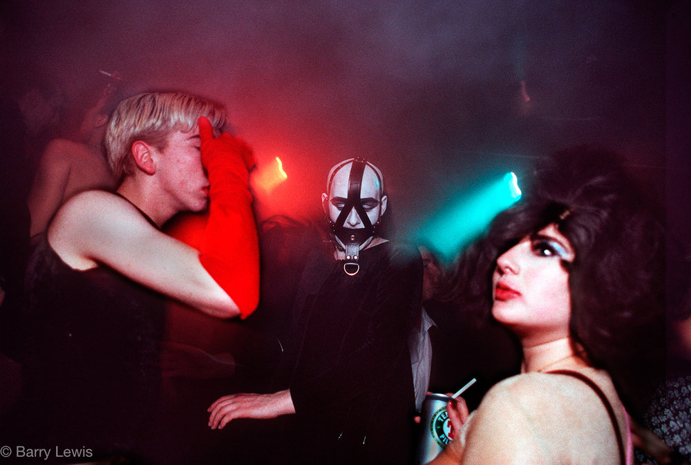 Kinky Galinky's Halloween night at the Cafe de Paris club, Soho London. 1990