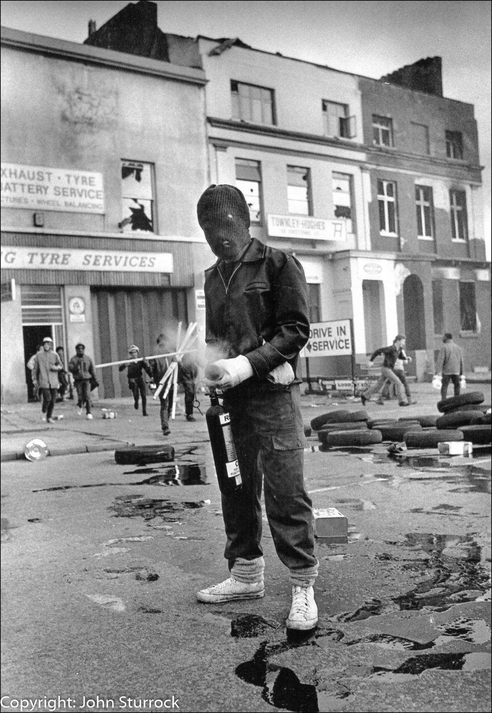 Toxteth Riot, Liverpool, 1981