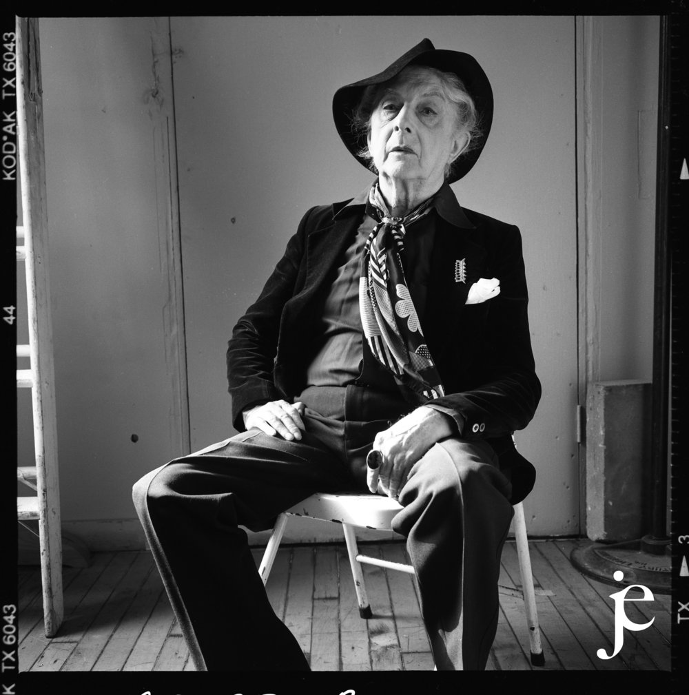 Writer and raconteur Quentin Crisp, 1993