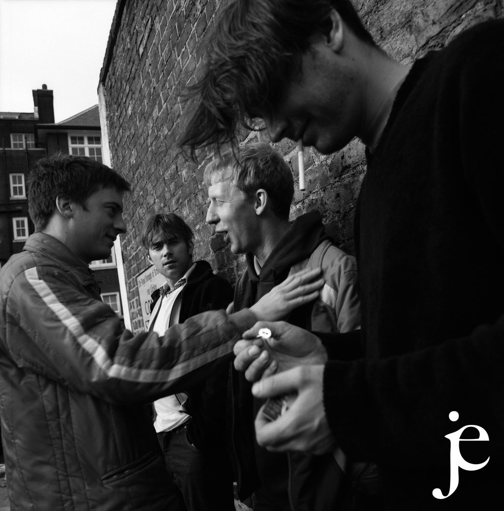 Blur, Ladbroke Grove, NW London, 1999