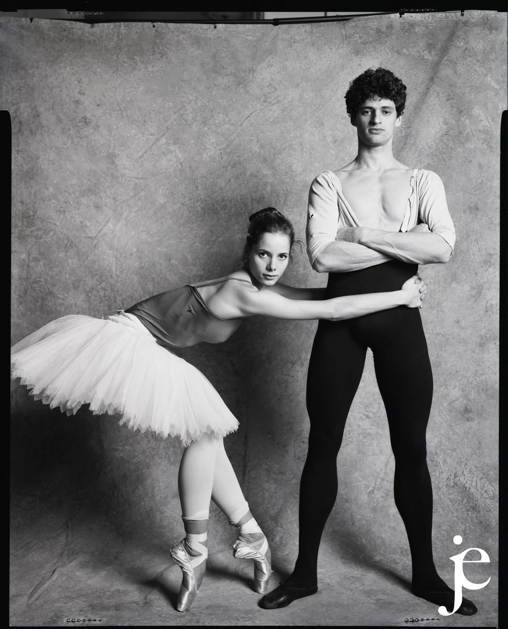 Ballet Dancers Darcey Bussel and Jonathan Cope at the Royal Opera House, London 1993