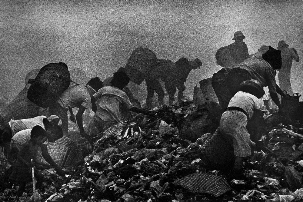 Manila 1986:  Smoking Mountain refuse dump