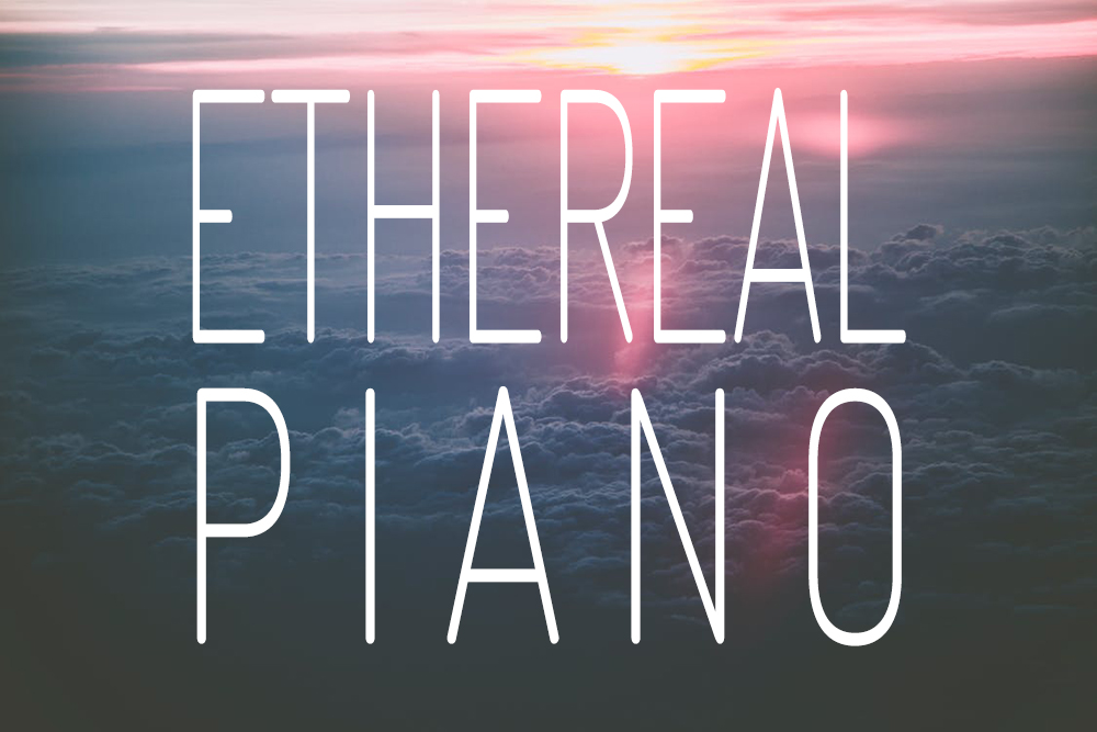 Mellow reverb drenched melancholic piano.
