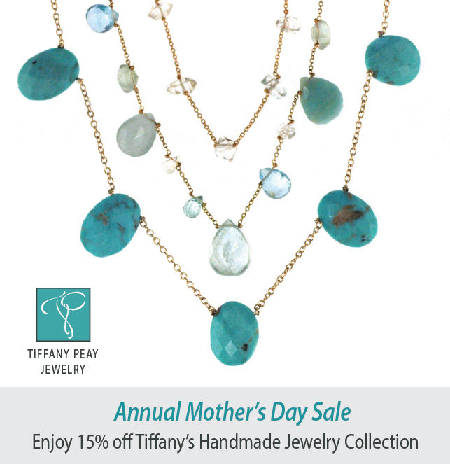 9ec88e6df64d8 Mother's Day Sale at Tiffany Peay Jewelry — Tiverton Four Corners