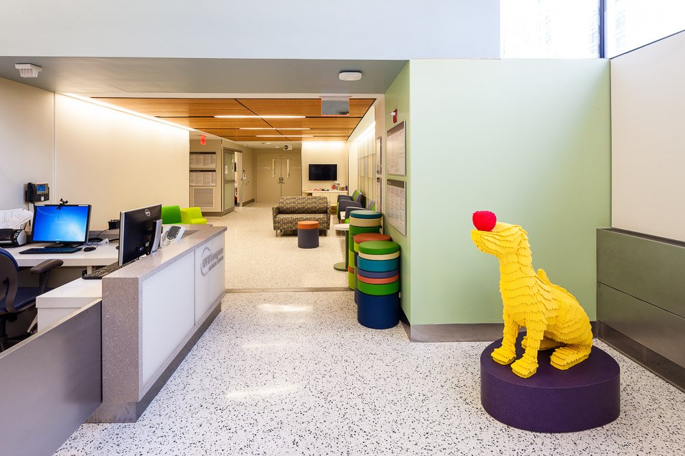 Emergency Department — Michele Bisaccia Health Care Interiors