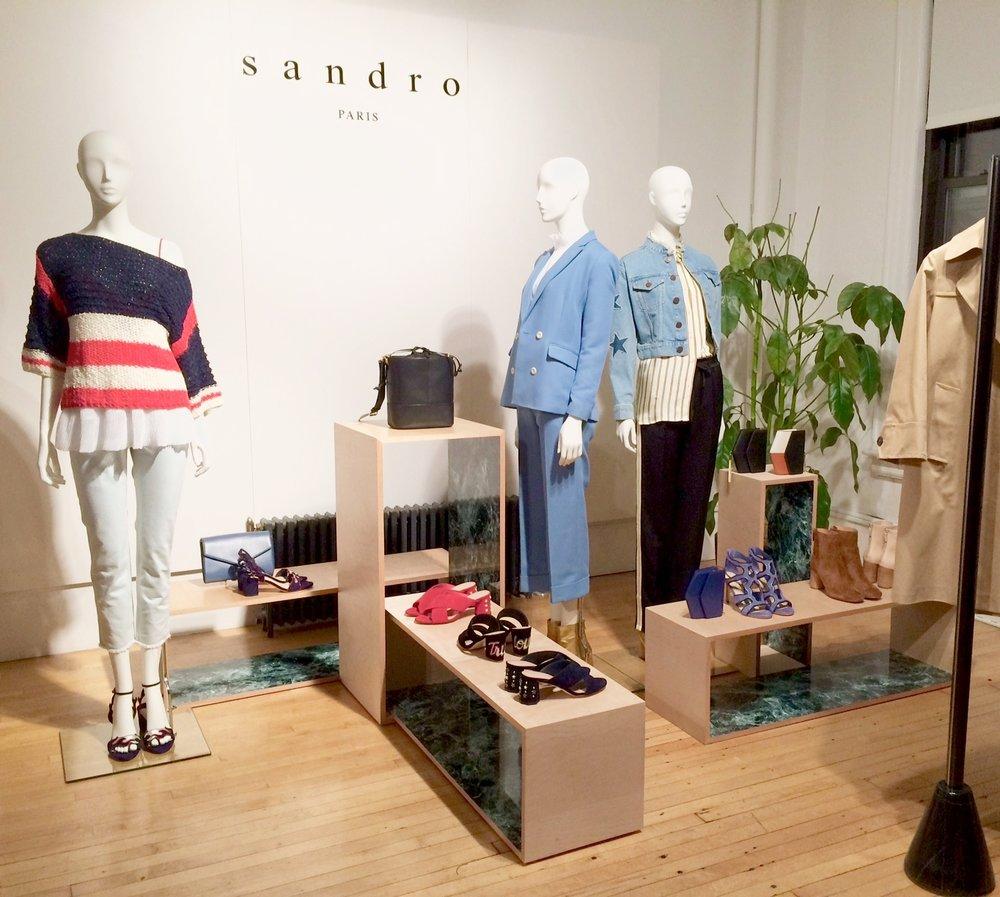 SANDRO PRESS DAY