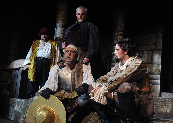 Dan as Cervantes/Don Quixote in Los Altos Stage Company's Man of La Mancha.