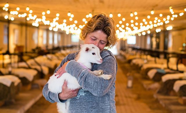 Katie our goat handler/right-hand/goat whisperer and you can now add #midwife to her resume! The list goes on she does it all. Shes been a part of the @GilbertsvilleFarmhouseWeddings family since the very first season in 2013. She loves and cares for all of our animals here.⠀⠀⠀⠀⠀⠀⠀⠀⠀ ⠀⠀⠀⠀⠀⠀⠀⠀⠀ Photo Credit: @Korverphotography⠀⠀⠀⠀⠀⠀⠀⠀⠀ Sent via @planoly #planoly
