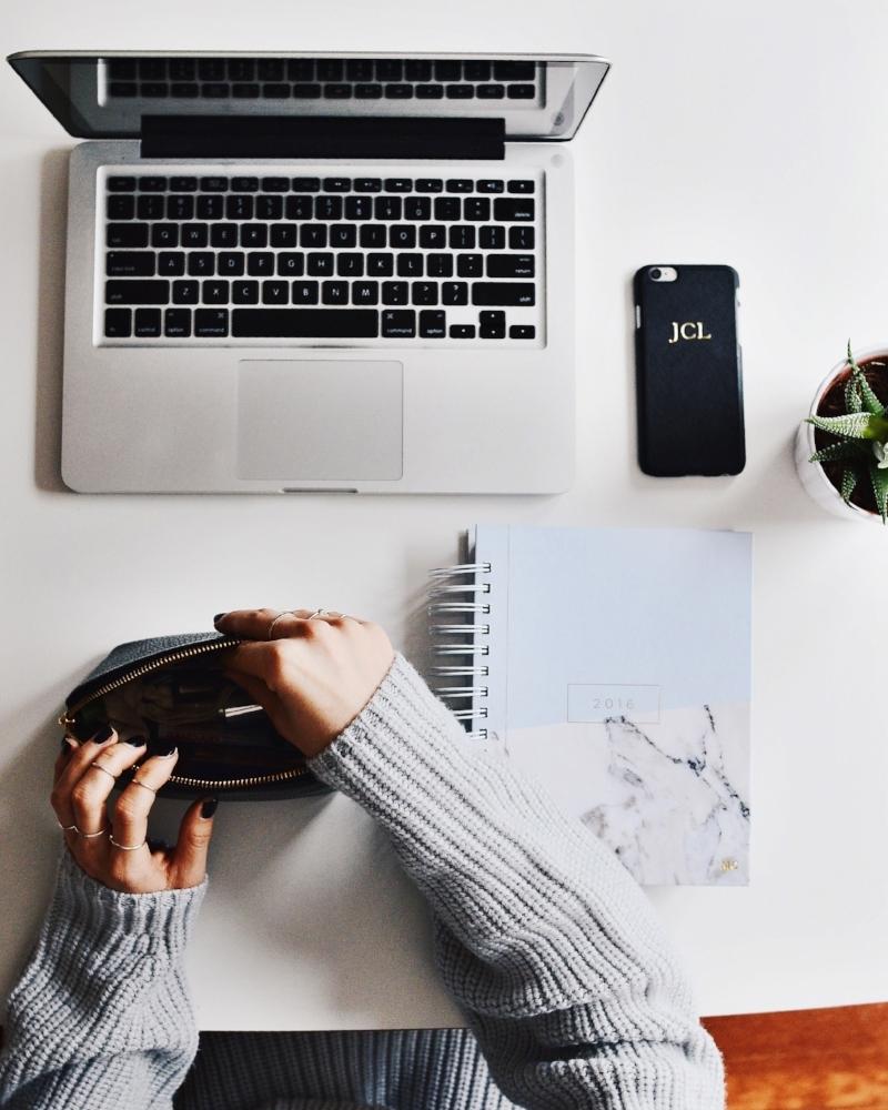 balancing blog and university