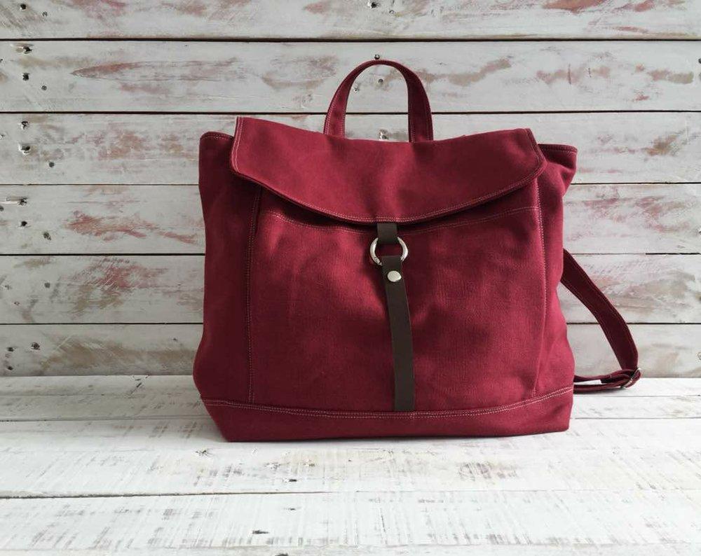 Tanya Maroon Red Backpack.jpg