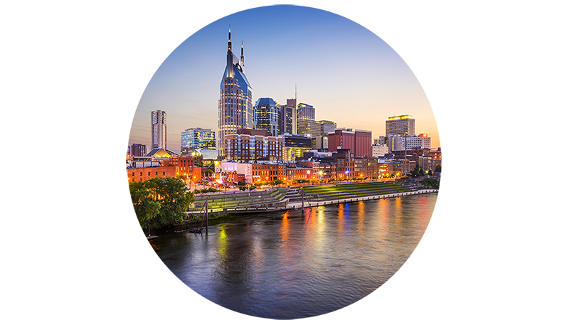 Nashville Skyline Icon