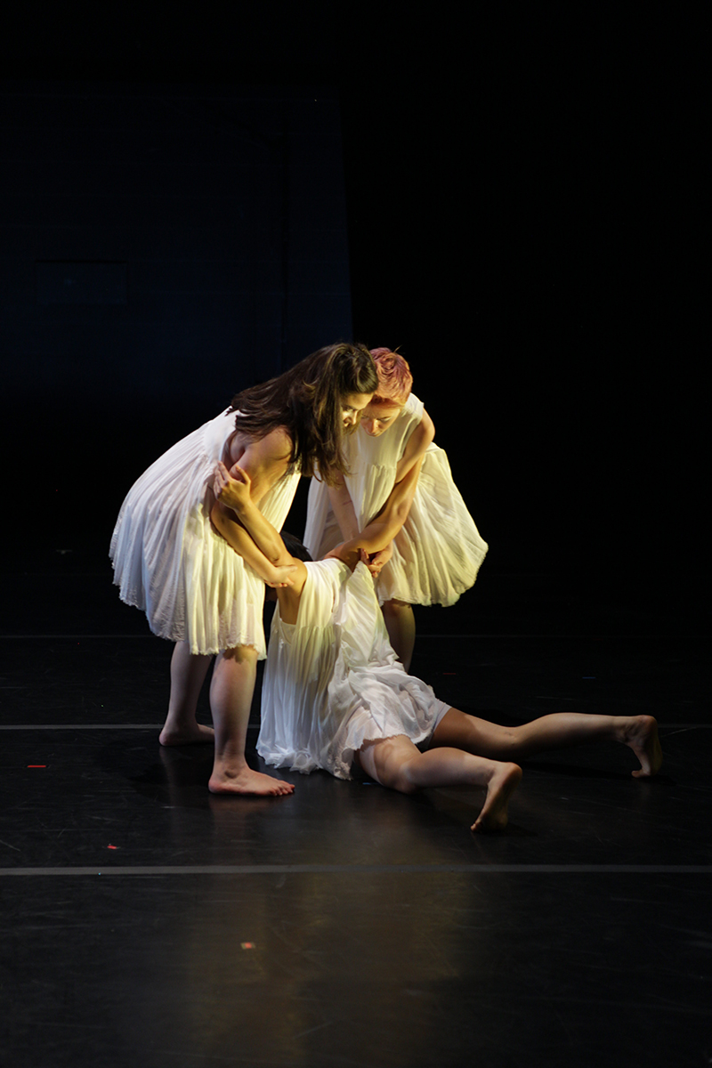 """Norns and Norns"" - Choreographed by Brandin Steffensen- Lighting Design by Matthew Webb- Photography by Tim Summers- University of Washington MFA Dance Concert- May 2018"