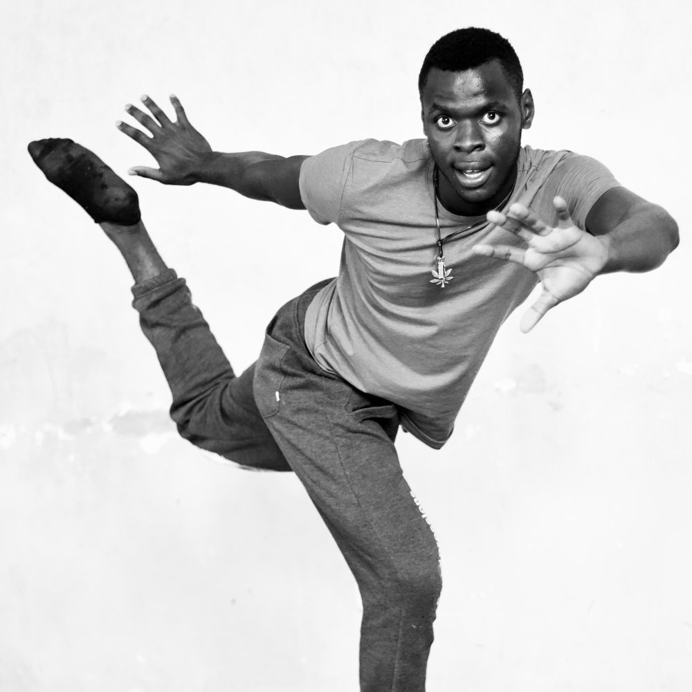 Twinomujuni Ivan - Also a member of Soul Expressions dance groupWhen talking about SPLASH Dance Company he says, 'I have had fun'… 'and explored the greatness of positiveness.'