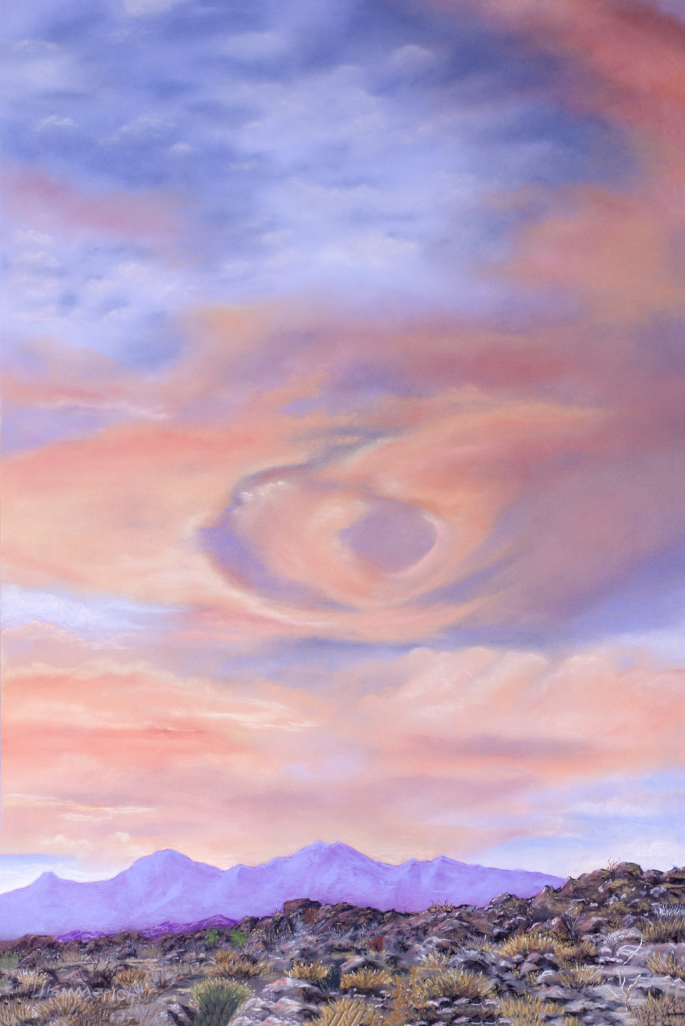 Vortex Cloud Sunset