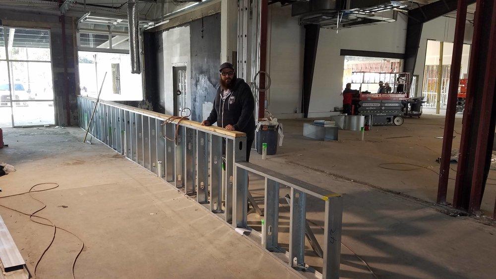Bar Getting Framed