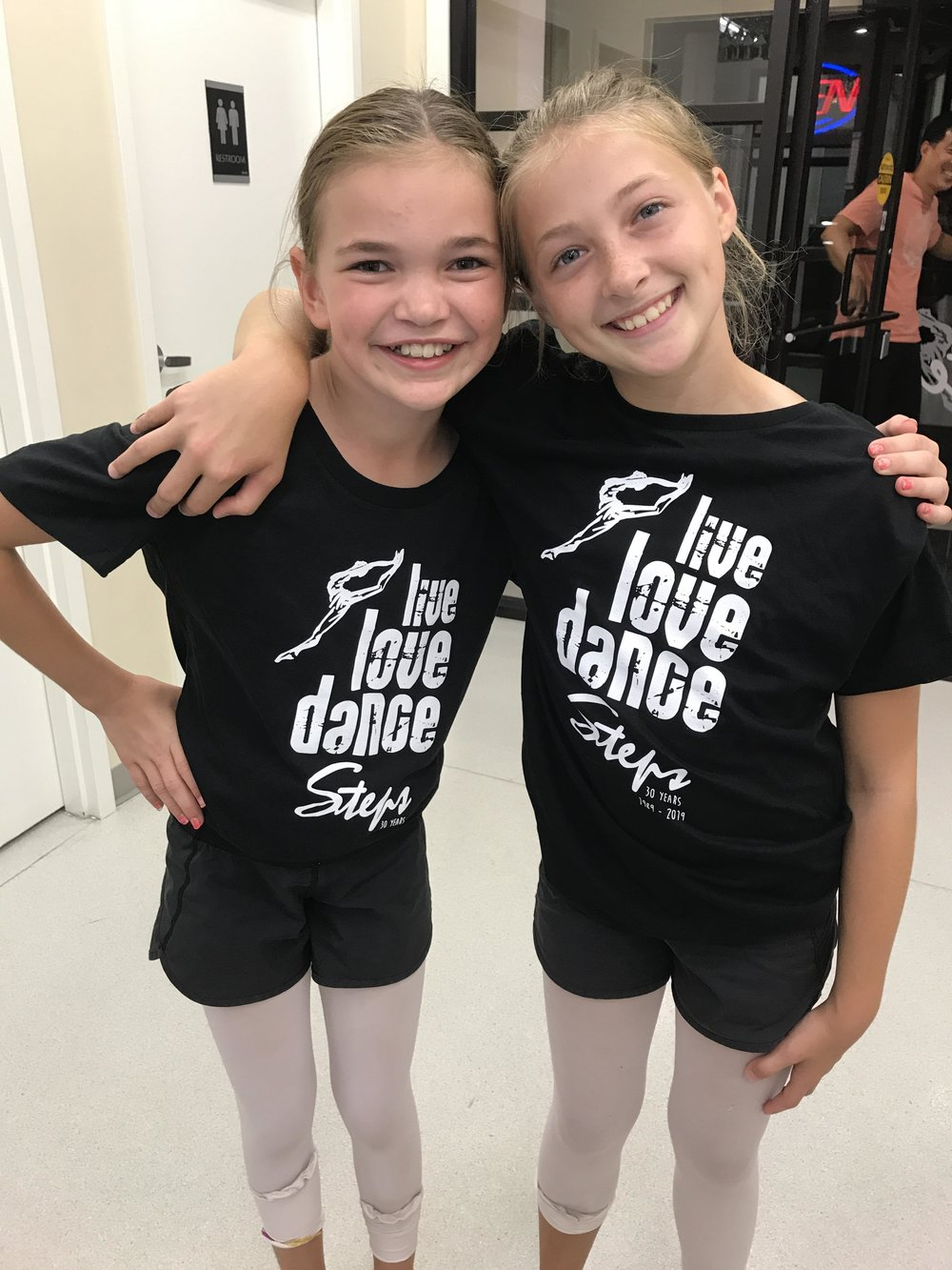 Ava & Megan Dance Steps 30th T-shirts.jpg