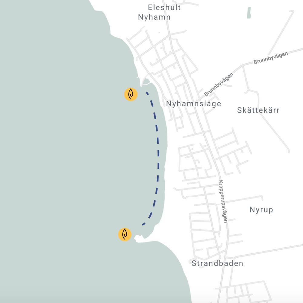 Erik Hultman - Strandbaden - Höganäs kommun