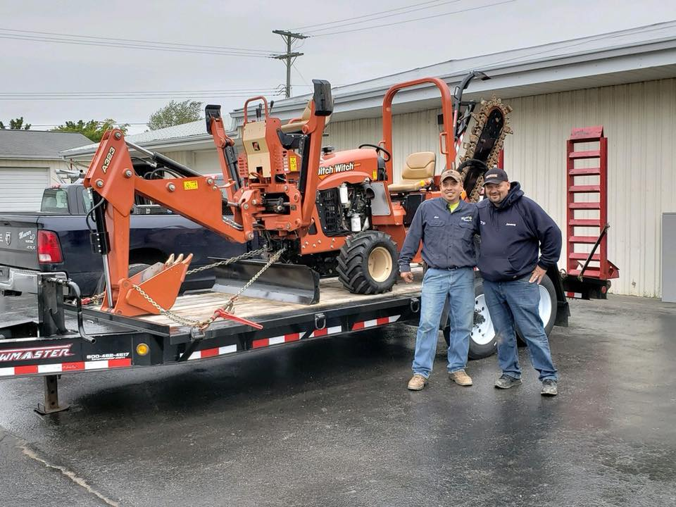 Our New Ditch Witch Trencher & Trailer has Arrived! — Maurer Electric
