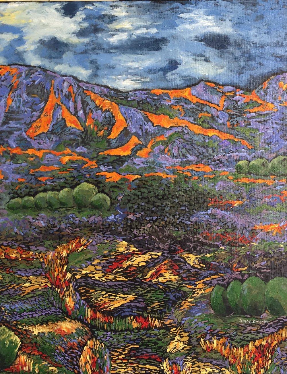 Dawn - 24'' W x 30'' H - Oil