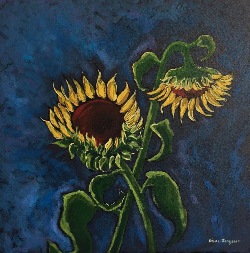 Spring - 24'' x 24'' - Acrylic