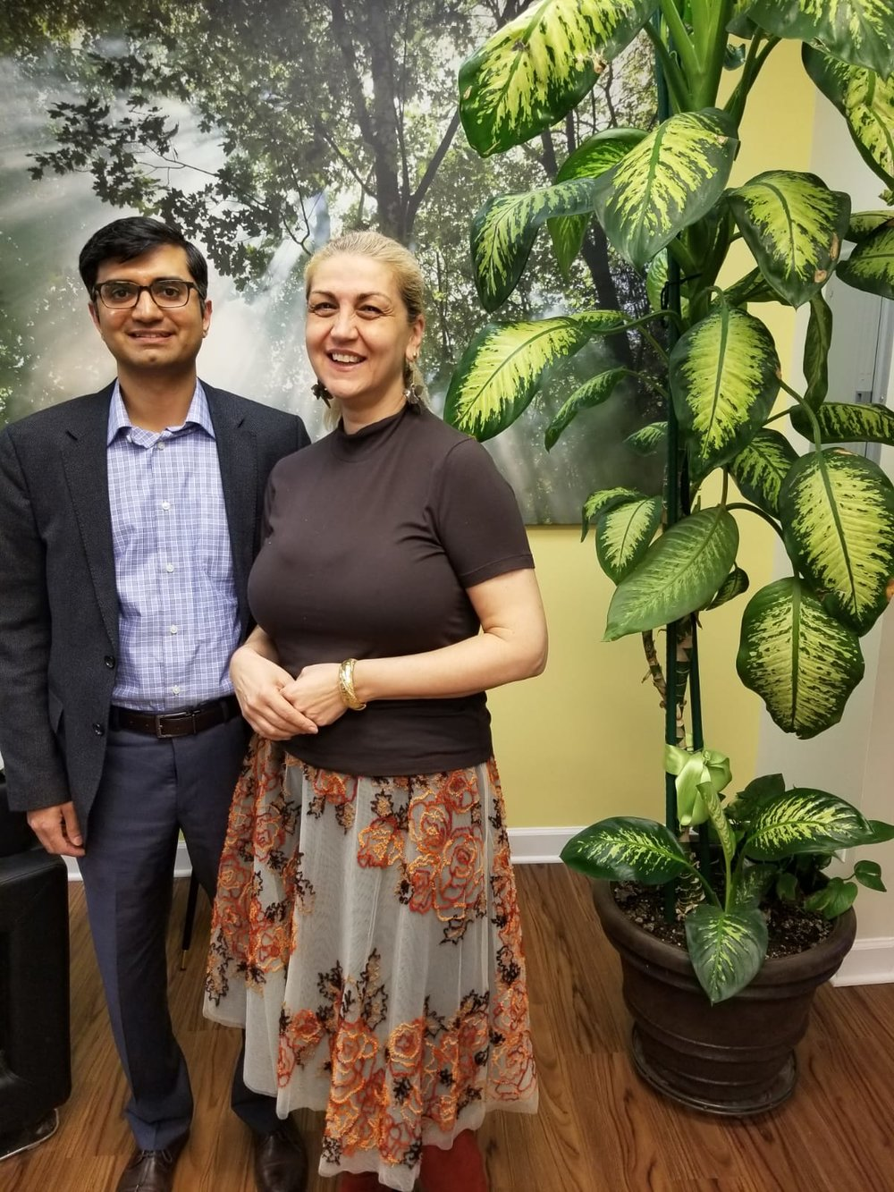 Dr. Rusalina Mincu of Vitallina Preventive & Integrative Care with Dr. Sameer Ahmed of MIMIT Health