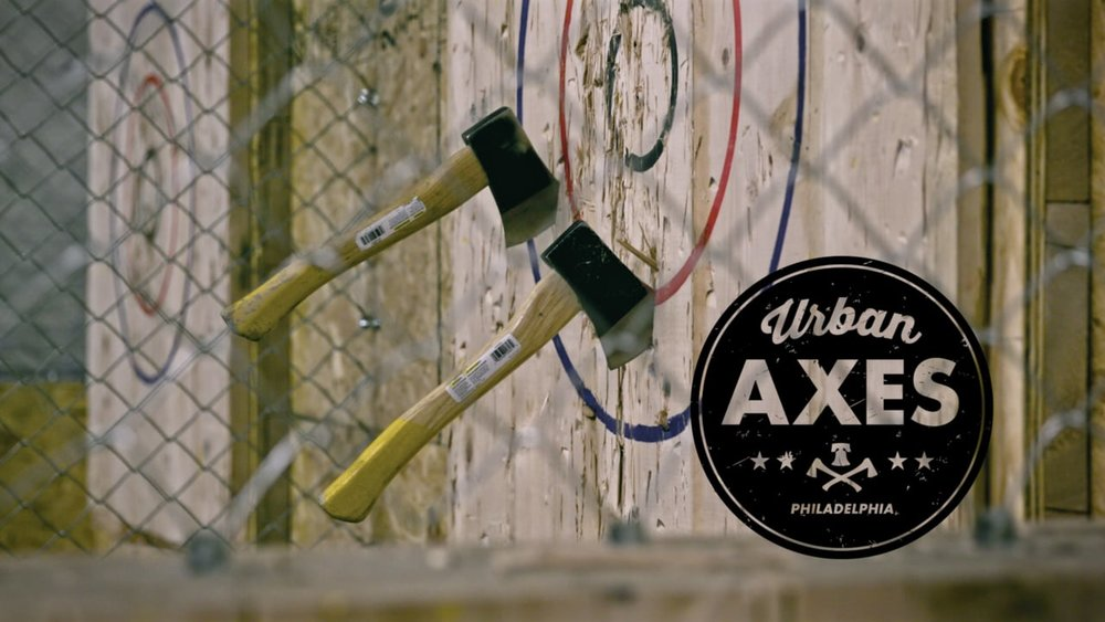 Urban Axes - Welcome to Masschusetts' first axe-throwing bar. Located in Somerville, Urban Axes opened for business in December and offers reservations for group events, and has walk-in hours for those looking for a fun night-out with friends. Be sure to check out the Urban Axes Bar and drink menu to enjoy a fun cocktail while you learn the ropes of ax-throwing.- JJ