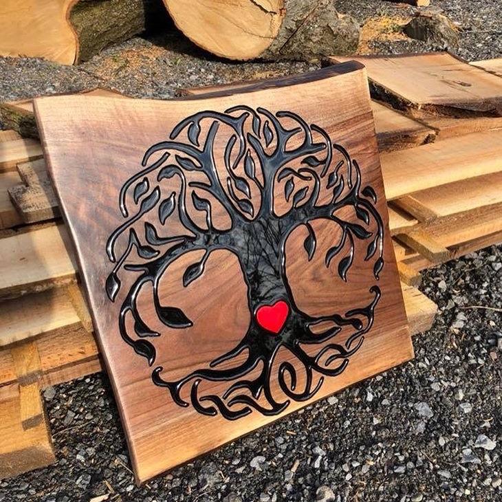 Adirondack Rustic Rose