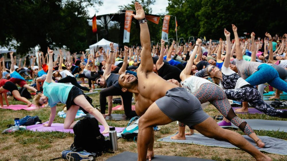 Can Doing Yoga at Music Festivals Change How We Think About Partying? (2016, THUMP)