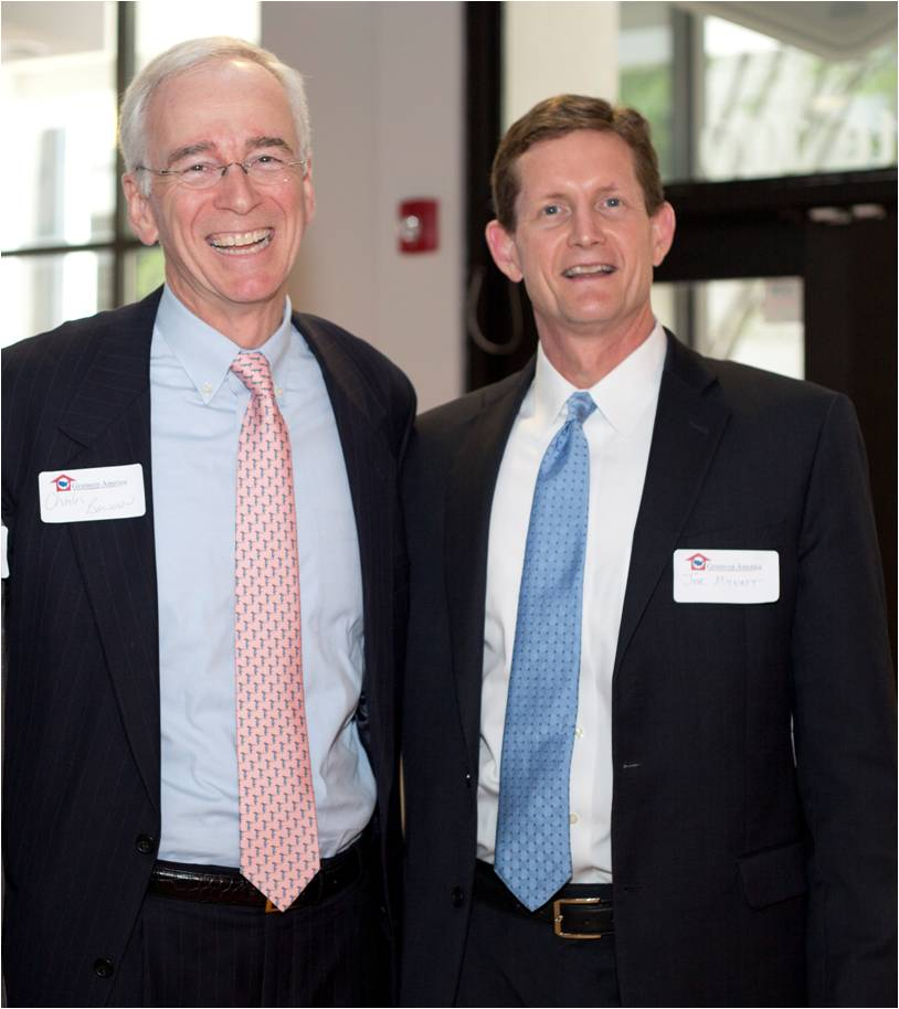 Charles Bowman (Bank of America) and Joe Mynatt (Wells Fargo).