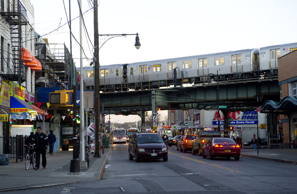 Neighborhood in Brooklyn near Grameen America branch