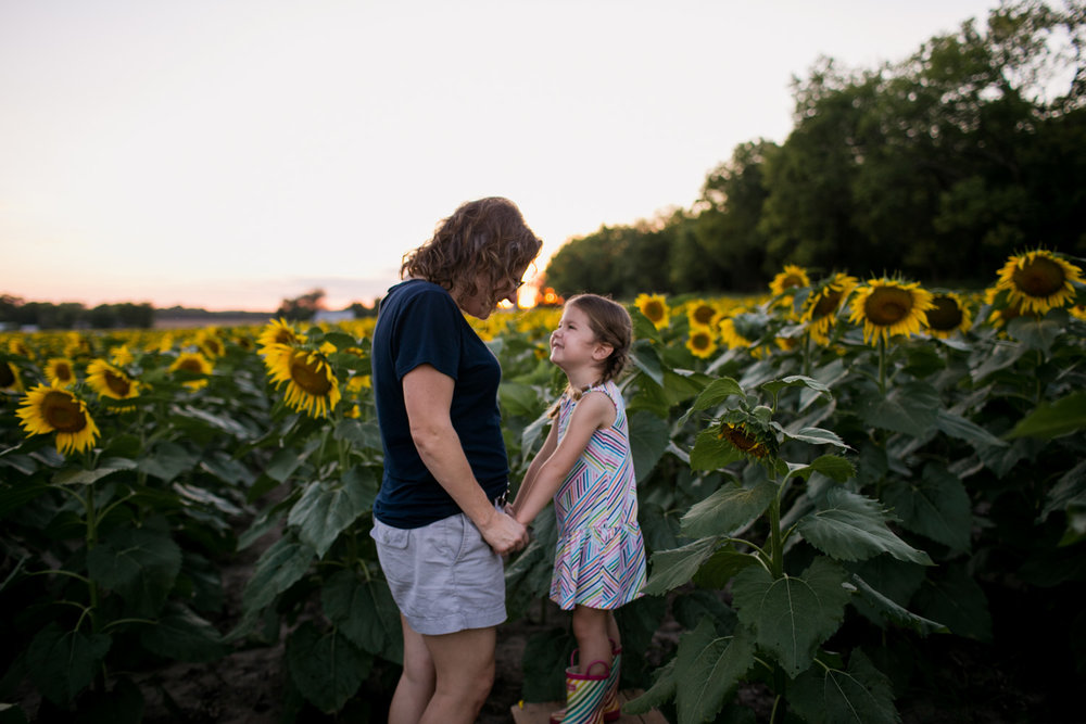 Captured by Best Documentary Family Photographer, Renee McDaniel of Renee McDaniel Photography in Manhattan Kansas. Photographed at Britt's Garden Acres, Manhattan Kansas.
