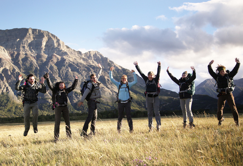 Photo: Hannah Jane Cramer Millennials, Earthwatch Participants, and the Author on the Earthwatch Project Restoring Fire and Wolves to the Canadian Rockies