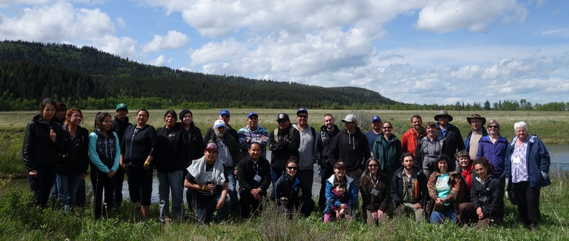 Kainai Environmental Protection Agency Kainai Field Trip onto Our Timber Limit Study Site