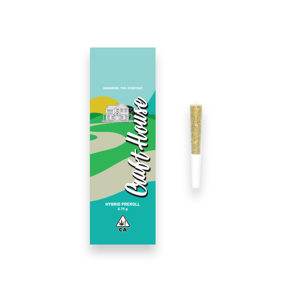 Prerolls - Meticulously cured, hand-trimmed and rolled in natural, unrefined, crutched cones.
