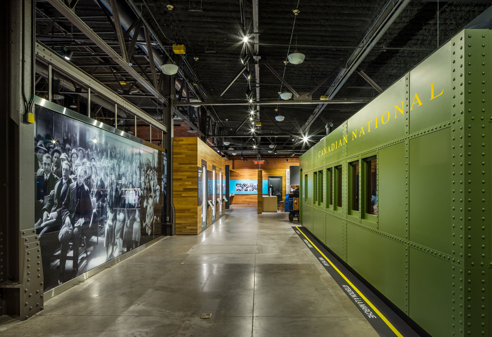 Museum of Immigration    Canada's newest national museum at historical Pier 21