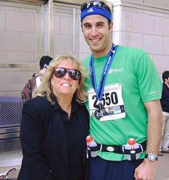 2009 Kev and Mom at finish.png