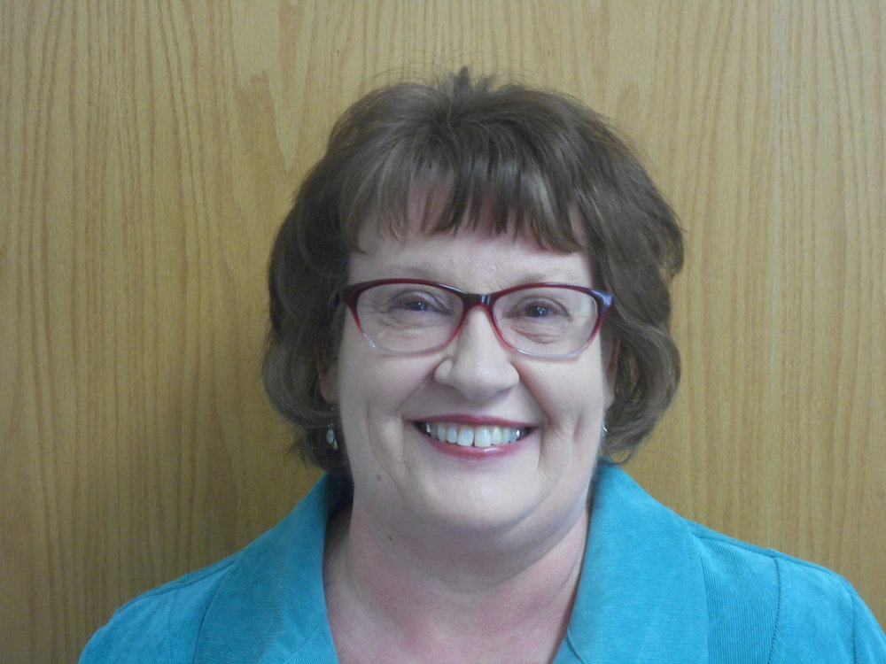 Julie Schreiber - Administrative AssistantHi, my name is Julie Schreiber and I am the voice you hear if you call the church office. I am married to Howard, who works for our township. Occasionally you might see a grader for a dump truck in the church parking lot. If you do, he has stopped by for a break!On September 10, 2017 we celebrated, 40 years together! We have three grown daughters, 5 granddaughters, and two grandsons ranging in age from 15 to 3. I have been in ministry work since 1997, serving as the Director of Care Net Pregnancy Resource Center for 10 years and then coming on staff here in March of 2009. My family means everything to me, along with my family of faith here at First Church of Christ.