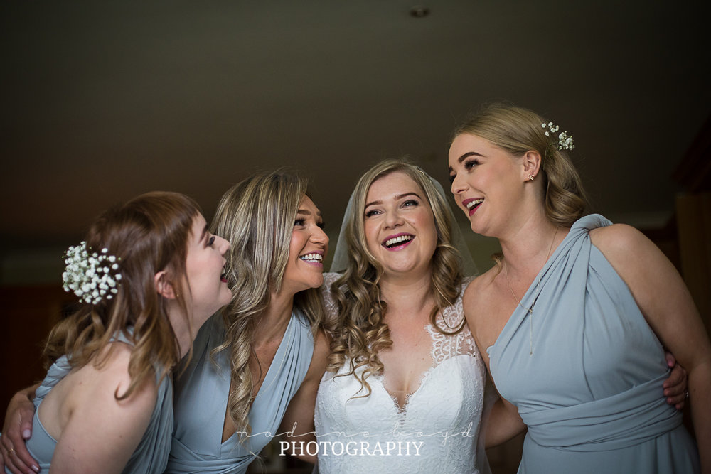Bride and bridesmaid dresses Scotland