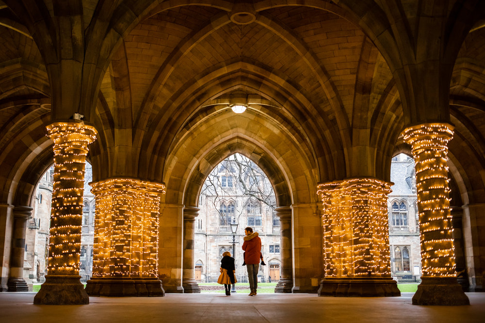 Outlander filming location - Glasgow University Crypt