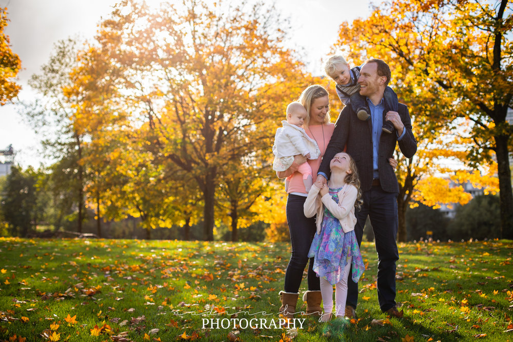 Family photography Glasgow Green
