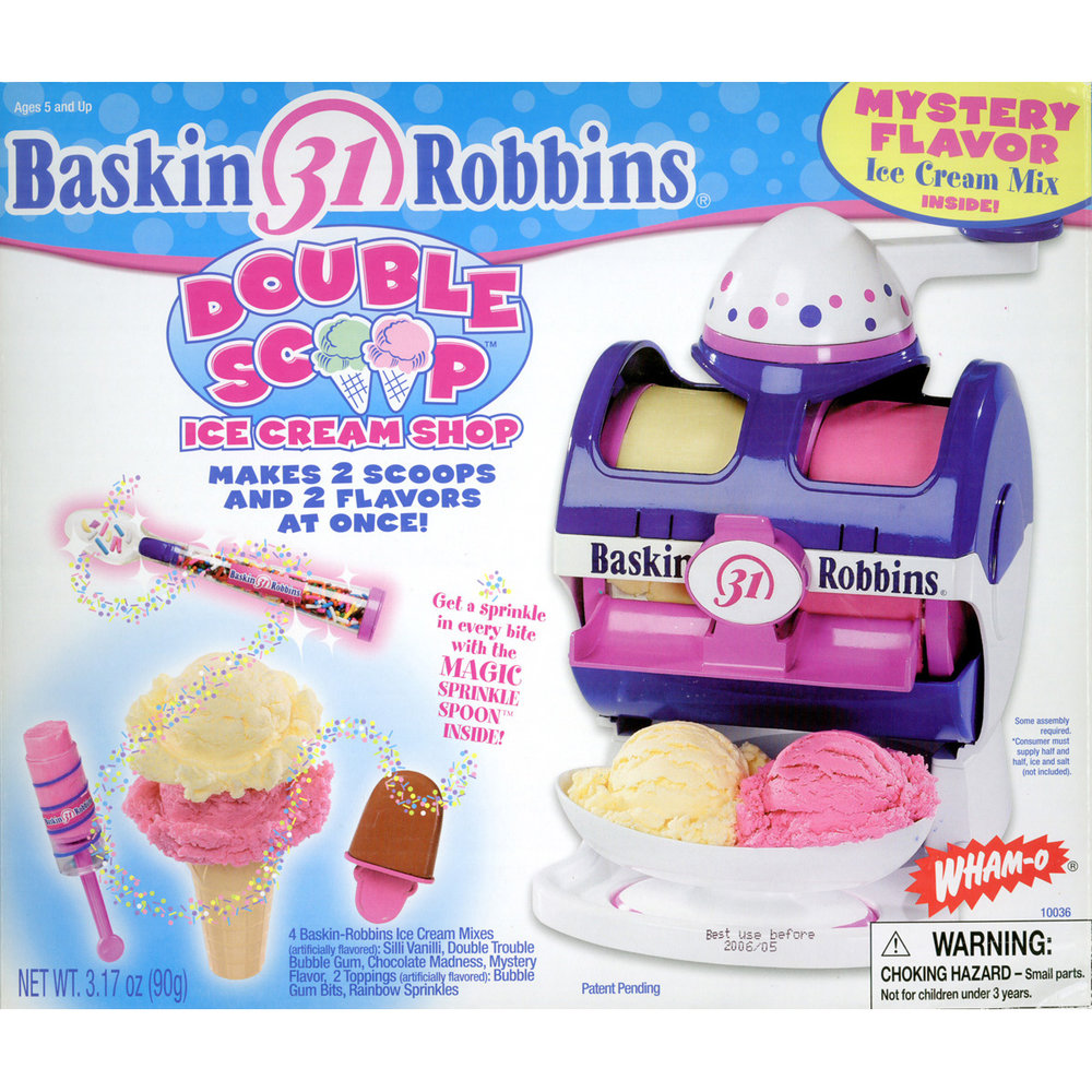 Double Scoop Ice Cream Maker