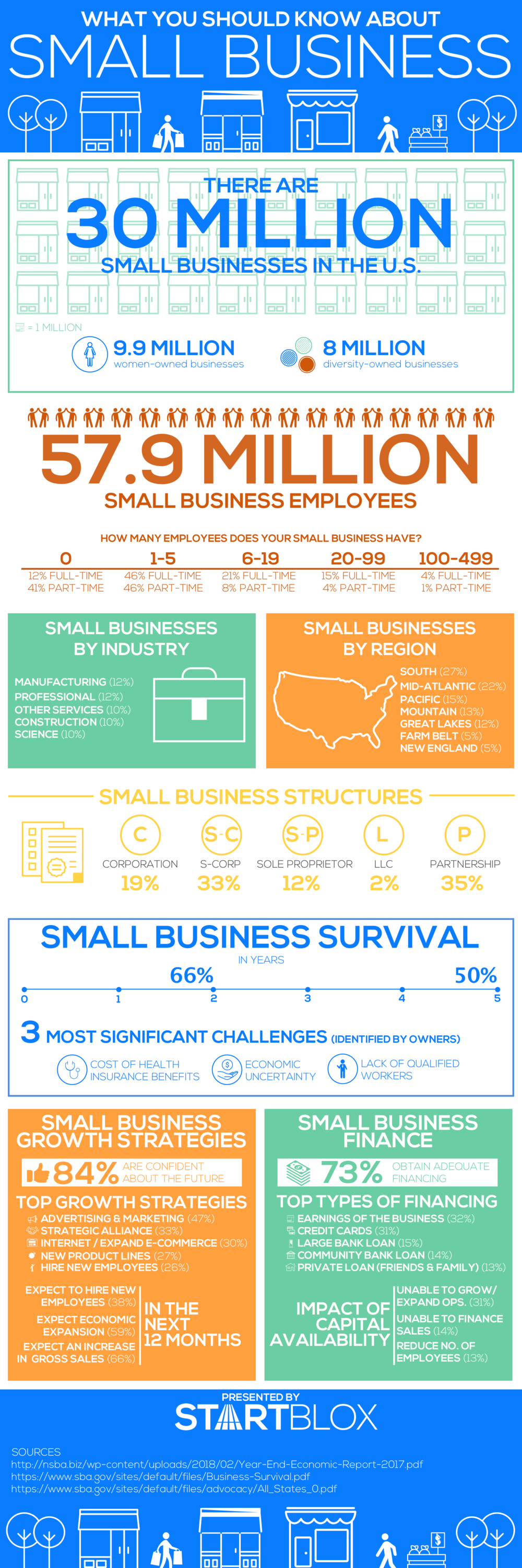Small Business Facts - Infographic