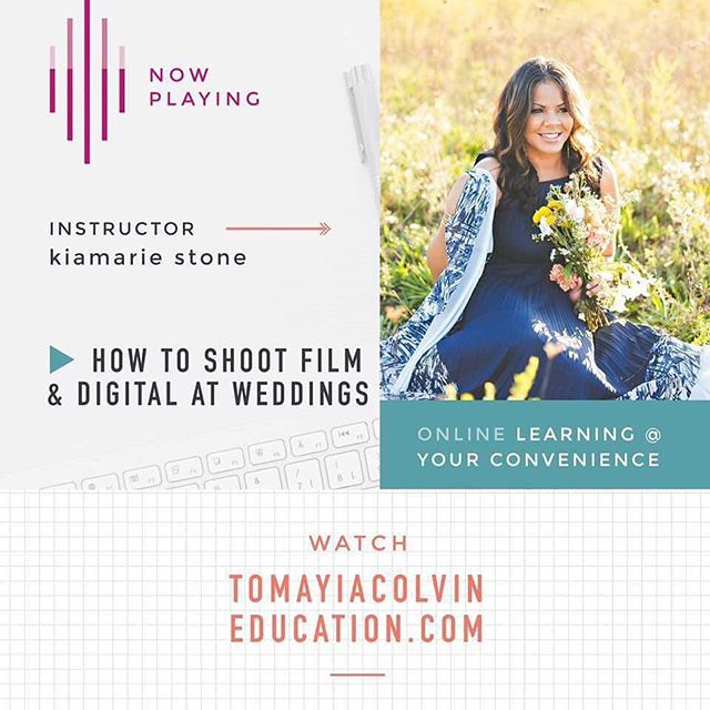 The replay of Kiamarie Stone's course on how she shoots film and digital at weddings is now available to watch in the online course library. Just log in and watch! It was very informative!  Watch  https://tcedu.us/hybridphotography  Key Take Aways: - How she earns more from weddings shooting film - What film she uses - How she got started  And much more!