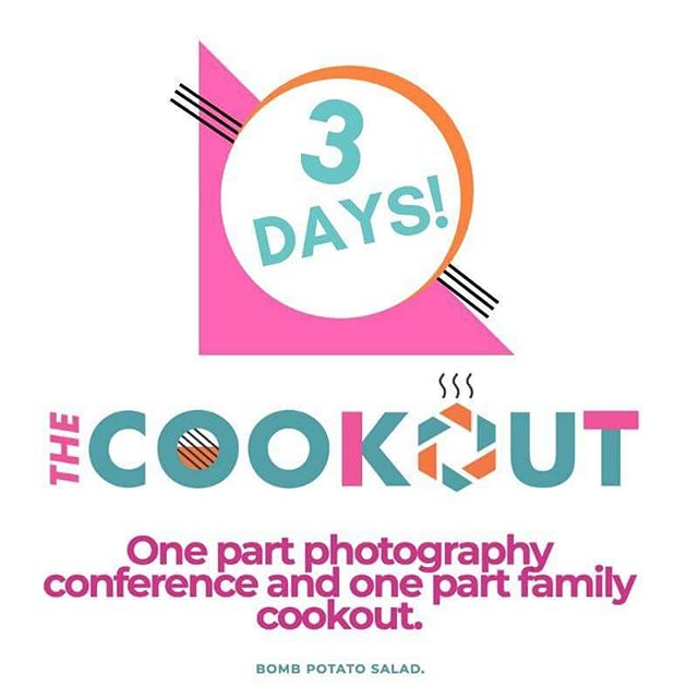 We're so excited to host our first photography conference - The Cookout!! Visit www.thephotocookout.com for details!