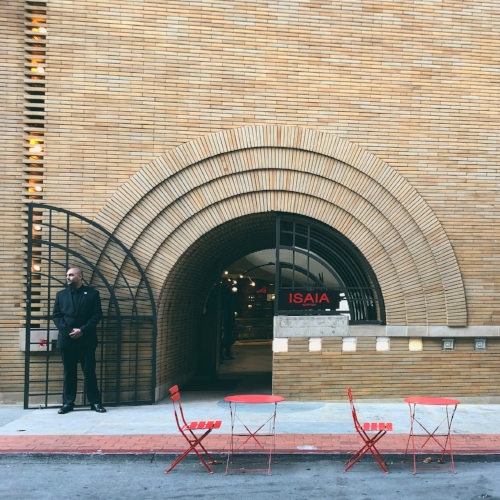 Make sure to schedule time for yourself during a conference. You never know what you may find within a few blocks of the conference venue! In San Francisco, PastForward attendees could easily walk to this Frank Lloyd Wright designed commercial space.
