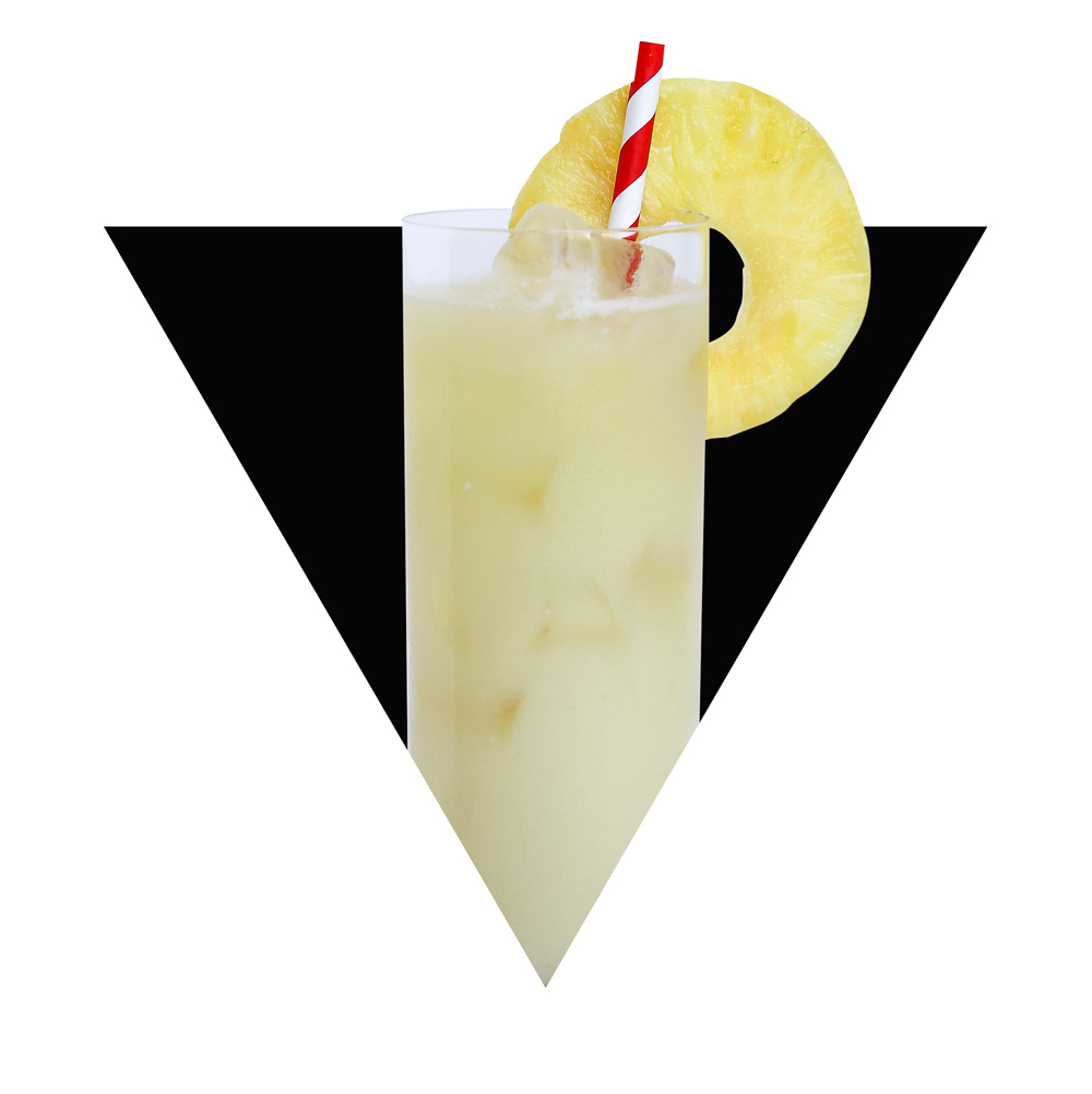 Madame Pele - Ingredients:2 oz VIVA Joven Tequila3/4 oz Falernum1/2 oz Coconut Syrup1/2 oz Fresh Lime Juice3/4 oz Fresh Pineapple JuiceHow To Mix:Add tequila, falernum, coconut syrup, lime juice, and pineapple juice to shaker with ice. Shake well and strain into a Collins glass filled with ice. Garnish with a pineapple wedge.