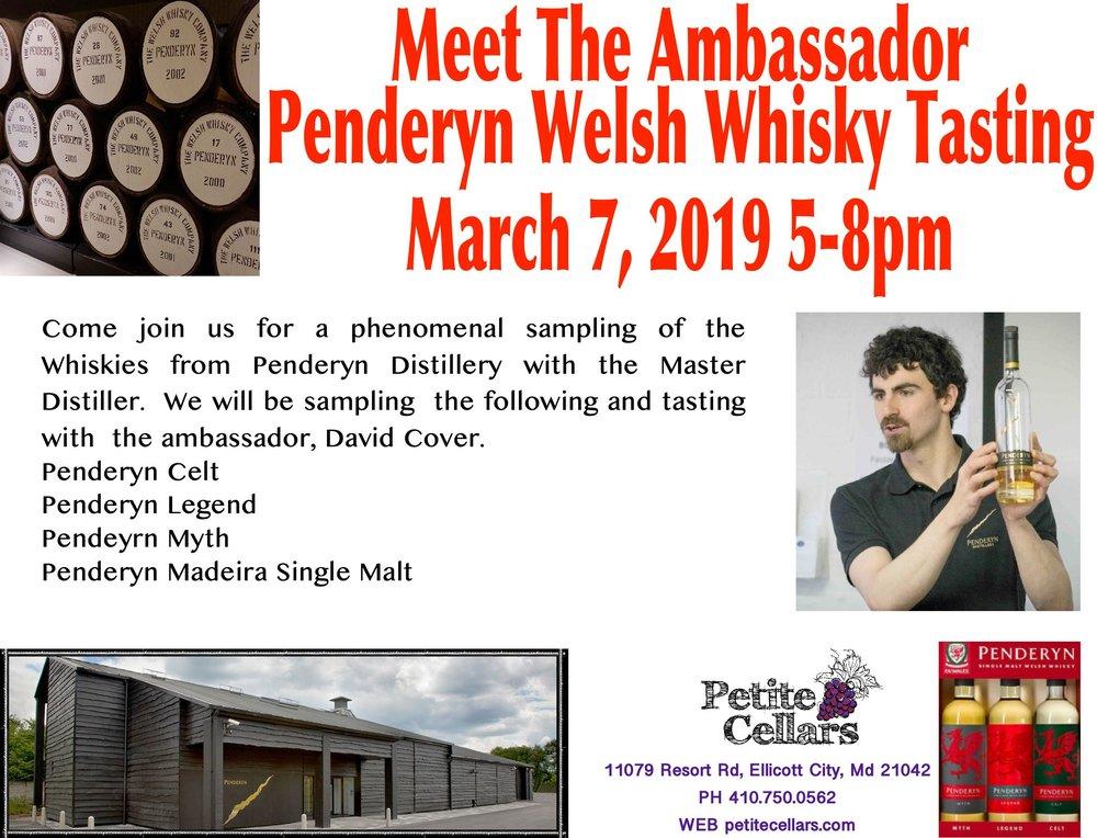Penderyn Meet The Amabasador